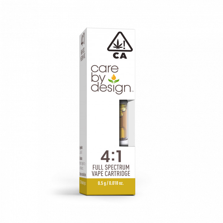 CBD Vape Cartridge 4:1