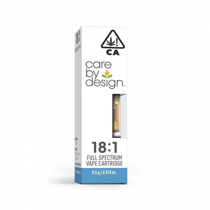 CBD Vape Cartridge 18:1