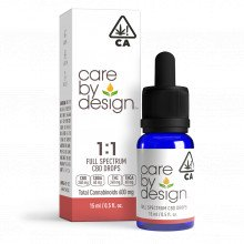 Full-Spectrum CBD Drops 1:1, 15mL