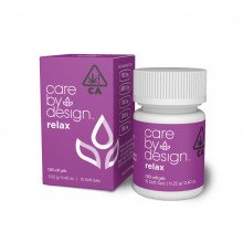 Packaging Render of Care By Design Relax Soft Gels, 15-Count