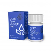 Packaging Render of Care By Design Rest Soft Gels, 15-Count