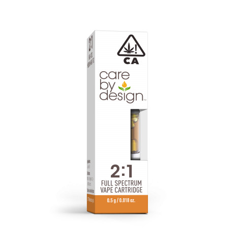 CBD Vape Cartridge 2:1